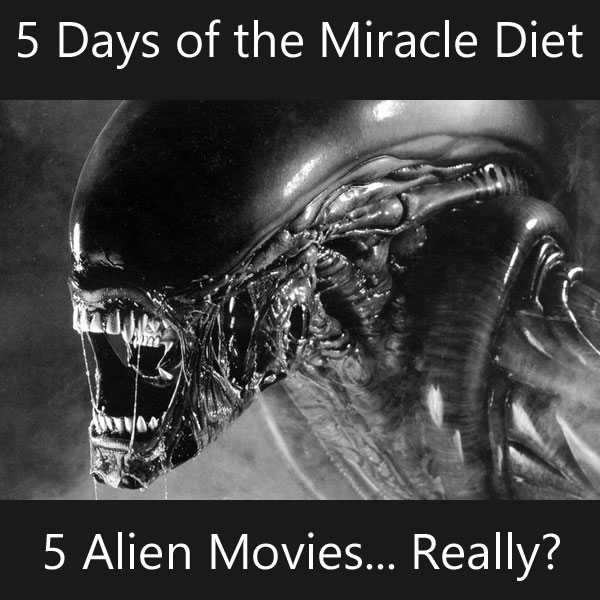 Alien: Got that 'hangry' look if you ask me