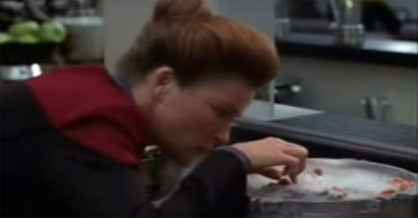 Captain Janeway: Not a great cook. So, how can we ruin our food this week?