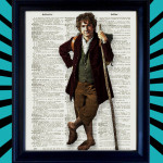 Bilbo from the Hobbit Print