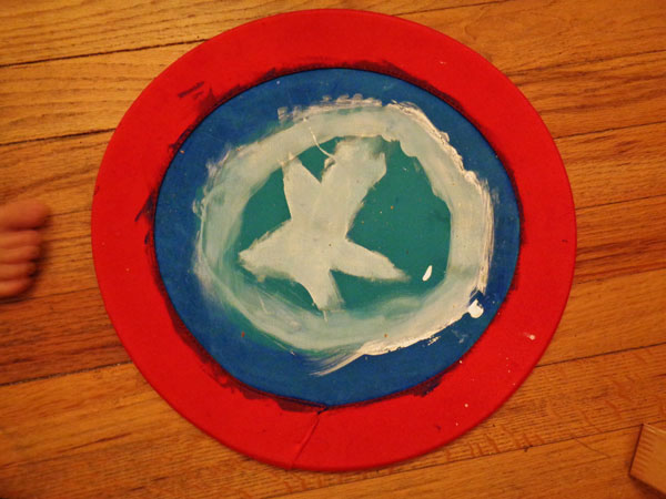 Captain America Shield Frisbee!
