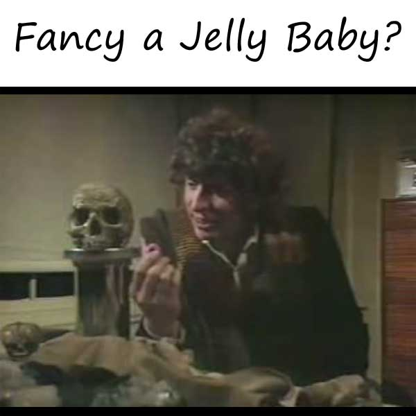 The Fourth Doctor: Fancy a Jelly Baby? Every Jelly Baby Scene from Doctor Who