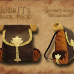 Handmade Leather Hobbit's Backpack