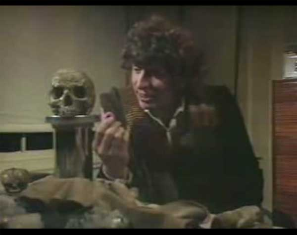 The Fourth Doctor's Jellybabies in Doctor Who