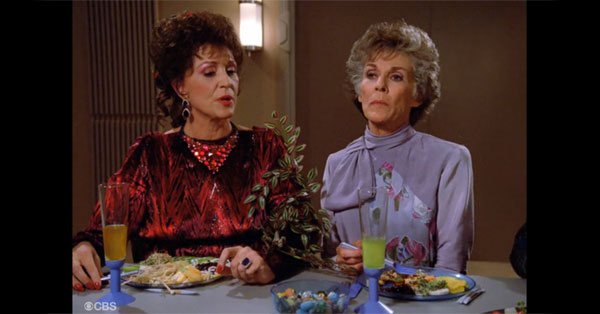 Lwaxana Troi: The Most Annoying Mother in Law? Star Trek: The Next Generation (CBS). Watch on Hulu.