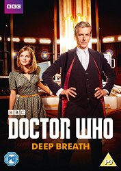Doctor Who: Peter Capaldi as the Twelfth Doctor, available on DVD from Amazon UK