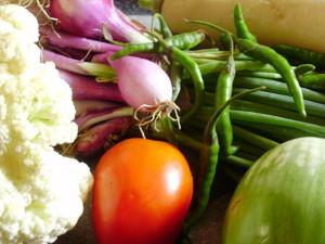 Vegan resources: Photo of vegetables