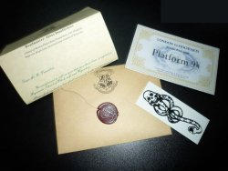 Back to School: The legendary Hogwarts Acceptance Letter...