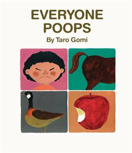 Everyone Poops - book about poop for toddlers
