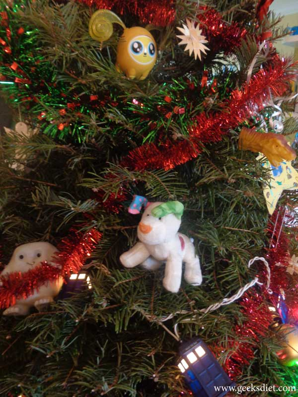 Our Geeky Christmas Tree