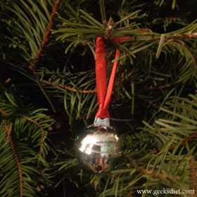 Silver bell from the Polar Express