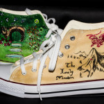Handpainted Hobbit Boots