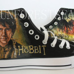 The Hobbit Handpainted Canvas Shoes
