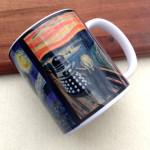 Dr Who Scream Dalek Mug