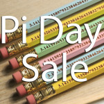 Pi Day Pencils Pack of 30