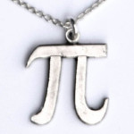 Pi Symbol Necklace
