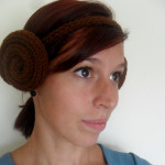 Knitted Leia Headband
