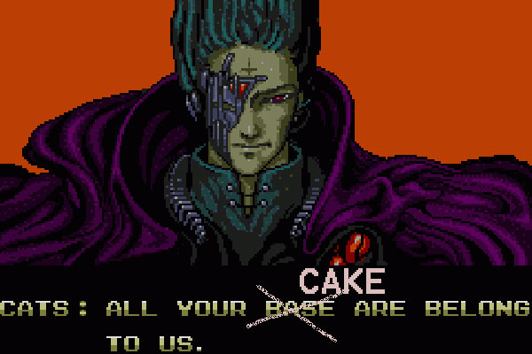 All Your Base Are Belong to Us - Now All Your Cake Are Belong To Us
