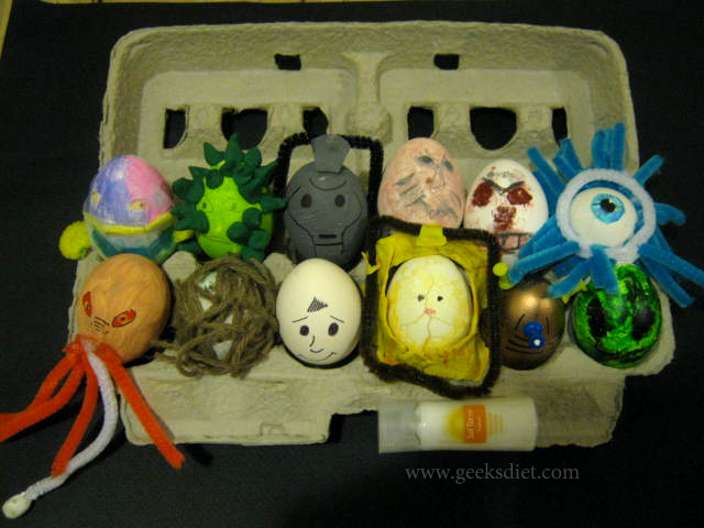 Our Fabulous Doctor Who Easter Eggs