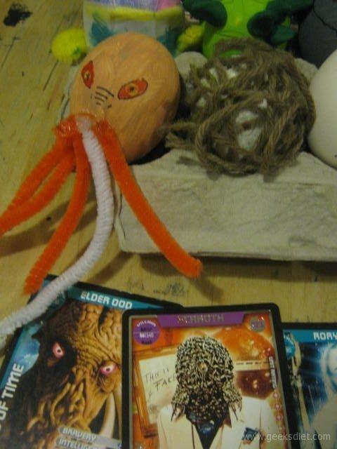 Evil Ood and Scaroth...