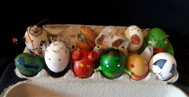 Monster Easter Eggs!