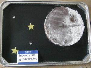 Star Wars Cakes: Death Star By Chocolate (How to Make a Death Star Chocolate Cake)