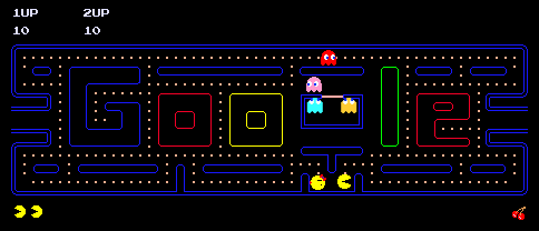 Google's 30th Anniversary of Pac-Man Doodle Game