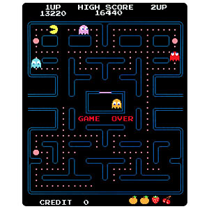 A Pac-Man Diet: the Pac-Man Fleece Blanket