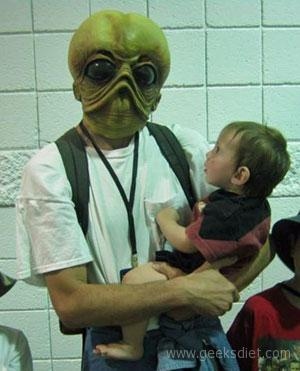 Comic Con with Babies: Making that mask mistake so you don't have to...