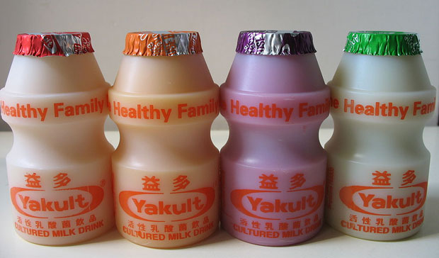 Trying out Yakult for a Probiotics Diet. The Conquering Heroes: 4 Flavours of Yakult