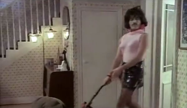We need to do our housework with attitude.  Like Freddie Mercury.