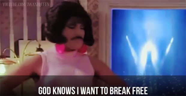 Freddie Mercury: He wouldn't stand for all this Stepford Wives housework malarkey