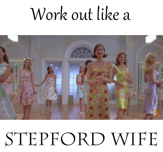 Time to Scrub and Slim with Clairobics: Work out like a Stepford Wife!