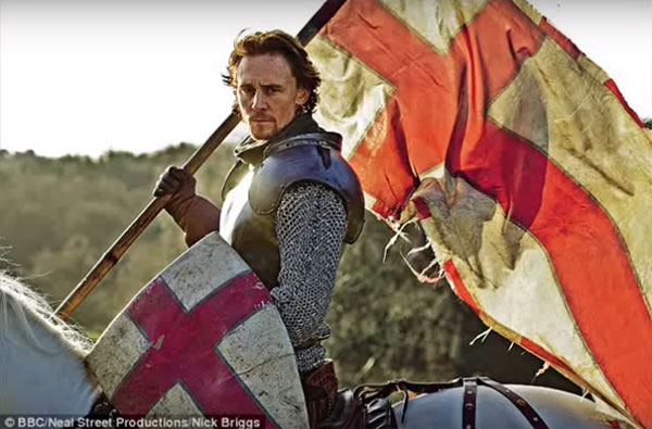 Shakespeare Monologues that helped my son get into drama school: Tom Hiddleston as Henry V