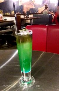 The elusive Spocktail, from TGI Fridays